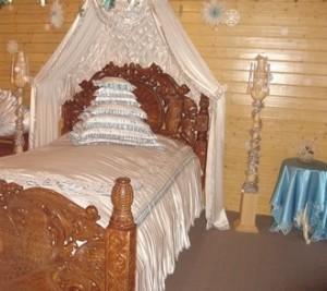Кровать Деда Мороза