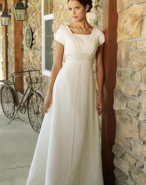 свадебное платье для беременных (20