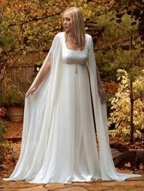 Многослойное платье ампир