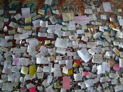 Записки от влюбленных на стене дома Джульетты