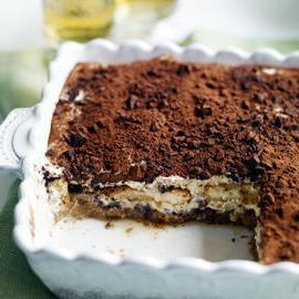 Тирамису - кофейное пирожное