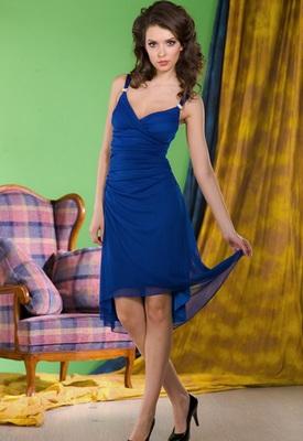 Синее платье (Juno)