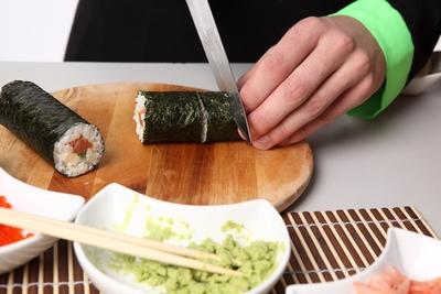Готовим суши роллы по-домашнему