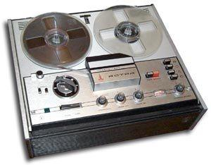 Бобинный магнитофон