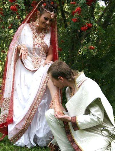 Свадьба в индийском стиле в