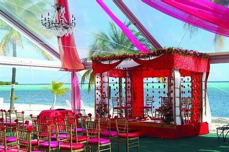 Тематическая свадьба по-индийски