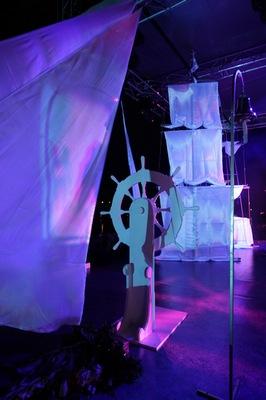 Декорация на свадьбу в морском стиле