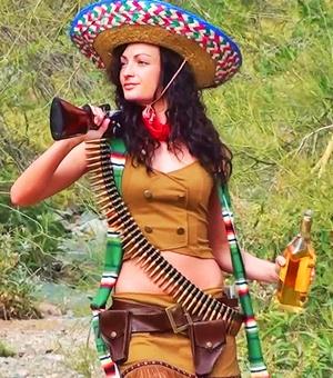 костюм в мексиканском стиле