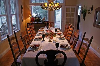 День Благодарения - семейный праздник