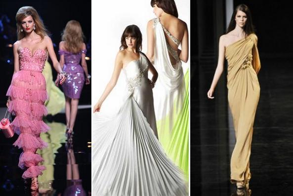 Вечірні плаття модні деталі