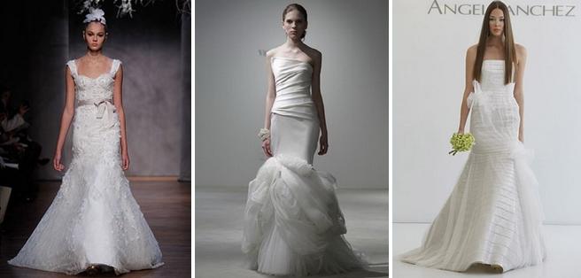 Модным фасоном свадебного платья