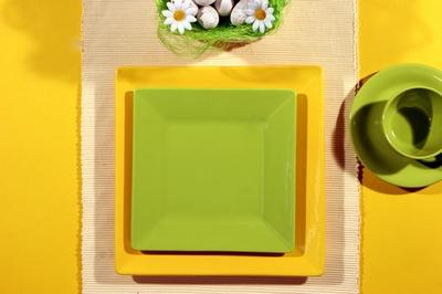 Пасха сервировка стола