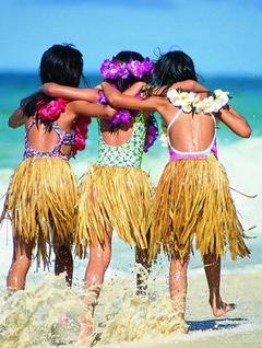 Детская вечеринка в гавайском стиле