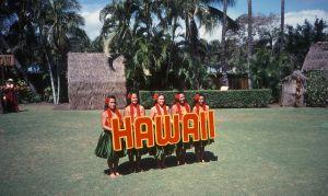 день рождения в гавайском стиле