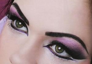 арабский макияж стрелки
