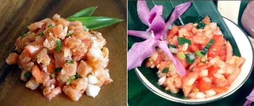 гавайские салаты