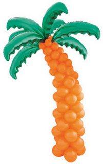 гавайская вечеринка пальма