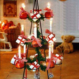 альтернативная новогодняя елка своими руками