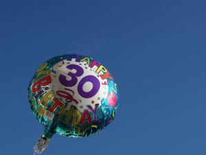 как отпраздновать тридцать лет