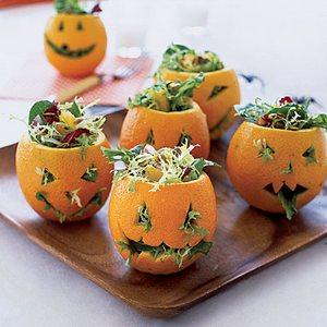 блюда хэллоуин