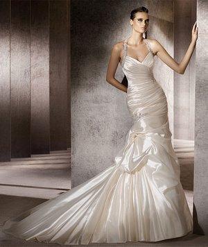Образы невест в платье рыбка
