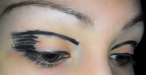 Винтажный макияж