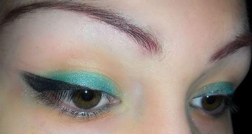 макияж в стиле стиляг