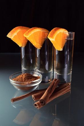 как пить текилу с корицей и апельсином