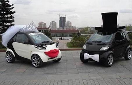 украшение машин жениха и невесты