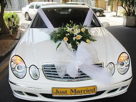 декор свадебного автомобиля