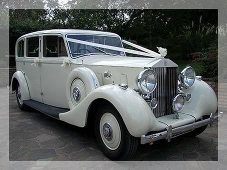 свадебный автомобиль ретро