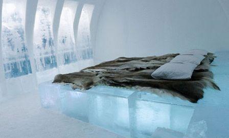 ледовый отель в швеции