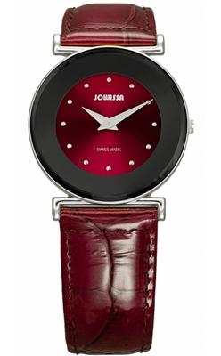 красные наручные часы