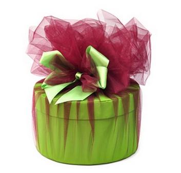 тканевая упаковка для подарка