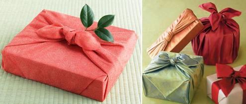 фурошики для подарка