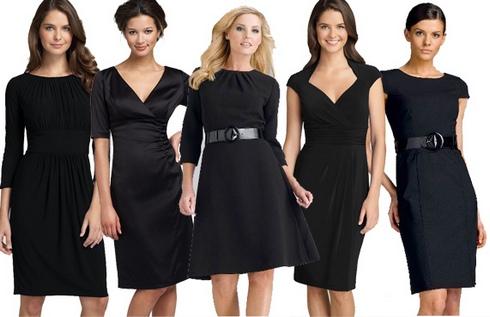 маленькое черное платье на свадьбу