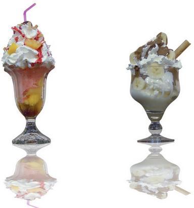 красивая подача мороженого: фото