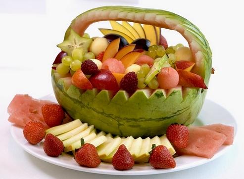 фрукты в арбузе
