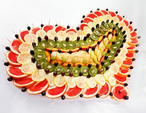 идеи для фруктовой тарелки