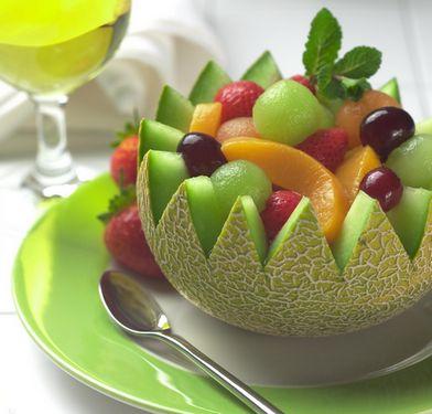 как подать фрукты к столу