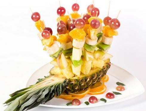 фруктовые шашлычки