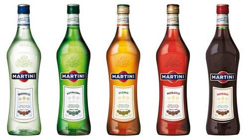 с чем пить мартини