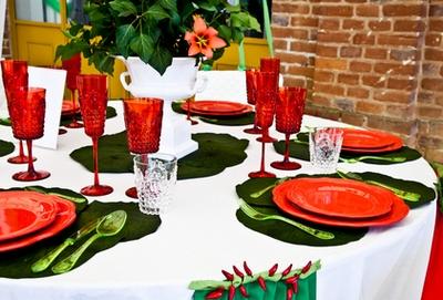 декор для итальянской вечеринки