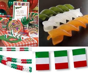 итальянская вечеринка: сценарий