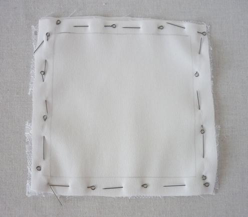 свадебная подушечка для обручальных колец своими руками