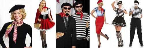 как одеться на французскую вечеринку