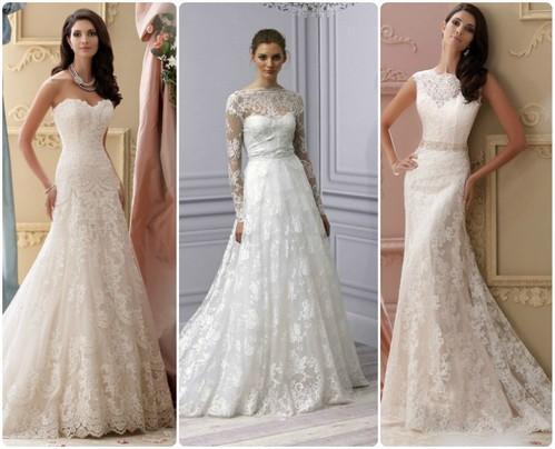 фасоны свадебных нарядов