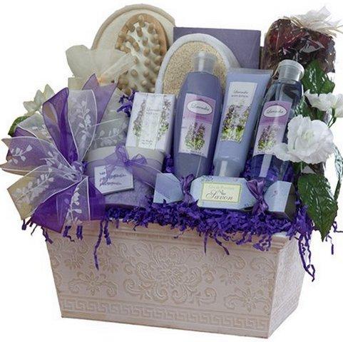 фиолетовый подарочный набор
