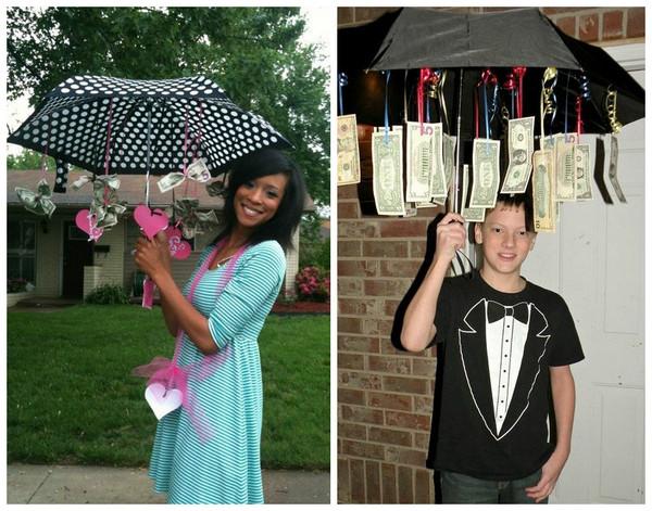 Зонт с деньгами поздравление 35